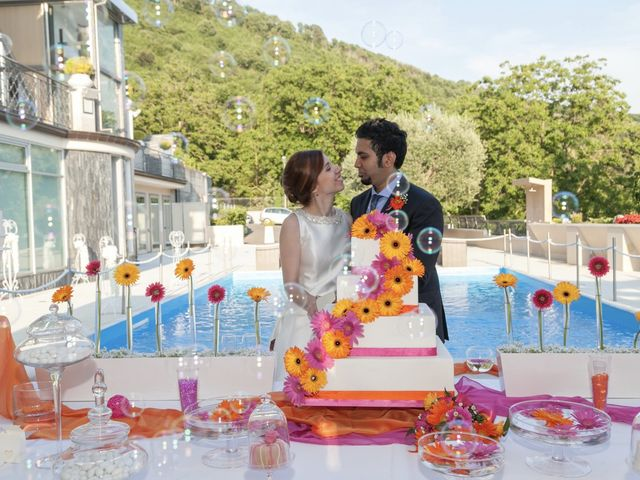 Il matrimonio di Ramanujam e Valentina a Mercato San Severino, Salerno 37