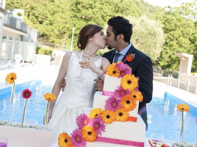 Il matrimonio di Ramanujam e Valentina a Mercato San Severino, Salerno 2