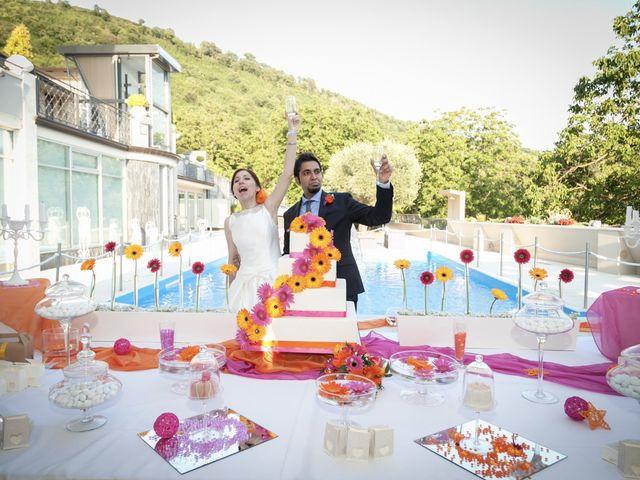 Il matrimonio di Ramanujam e Valentina a Mercato San Severino, Salerno 38