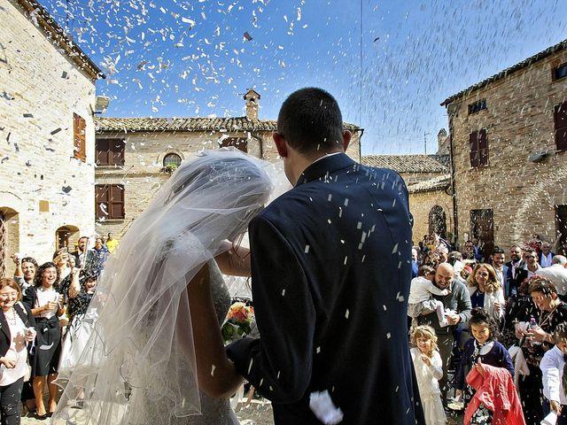 Il matrimonio di Mirko e Giada a Altidona, Fermo 29