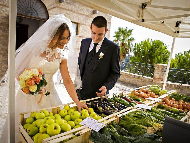 Il matrimonio di Mirko e Giada a Altidona, Fermo 34
