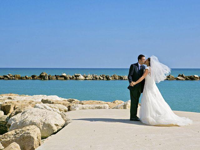 Il matrimonio di Mirko e Giada a Altidona, Fermo 45