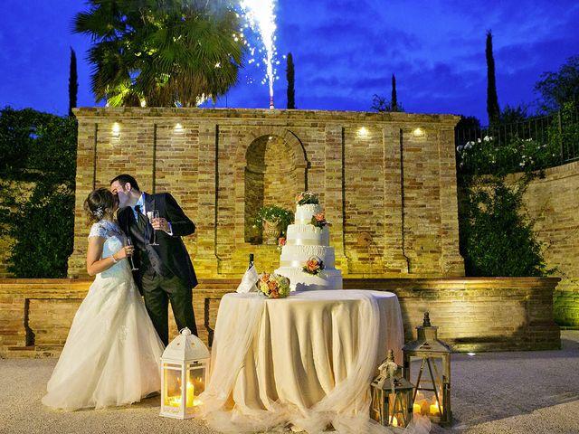 Il matrimonio di Mirko e Giada a Altidona, Fermo 69