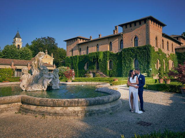 Il matrimonio di Alessio e Ambra a Cervesina, Pavia 43