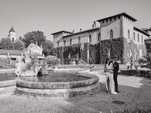 Il matrimonio di Alessio e Ambra a Cervesina, Pavia 44