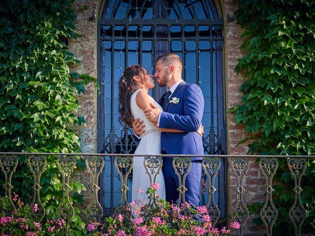 Il matrimonio di Alessio e Ambra a Cervesina, Pavia 55