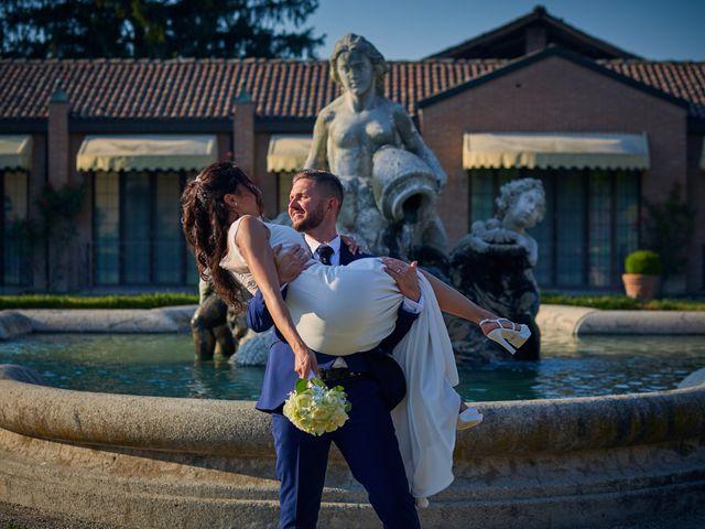 Il matrimonio di Alessio e Ambra a Cervesina, Pavia 57