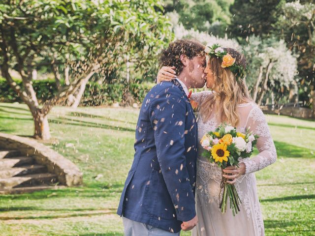 le nozze di Emma e Rosario