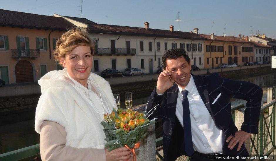 Il matrimonio di Massimo e Giuliana a Albairate, Milano