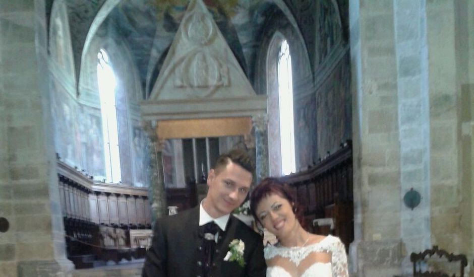 Il matrimonio di Elisabetta e Ivan a Roccantica, Rieti
