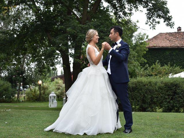 Le nozze di Valentina e Michel