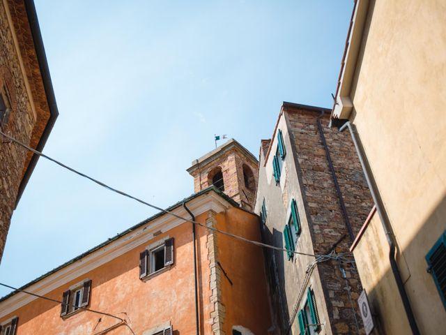 Il matrimonio di Giovanni e Elena a Montecatini Val di Cecina, Pisa 2