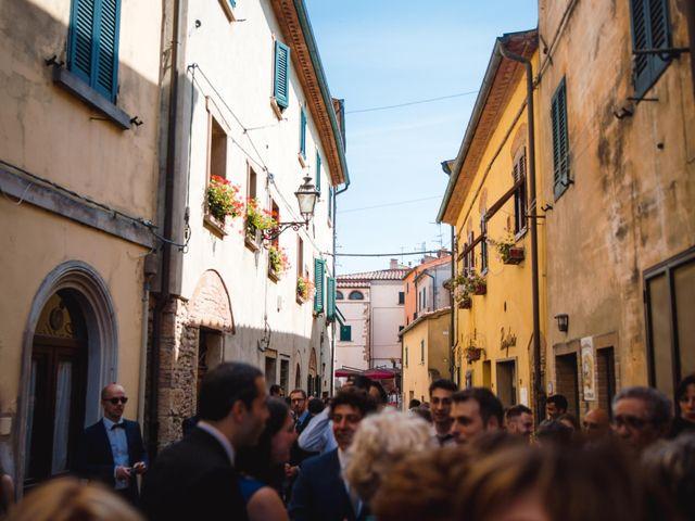 Il matrimonio di Giovanni e Elena a Montecatini Val di Cecina, Pisa 52