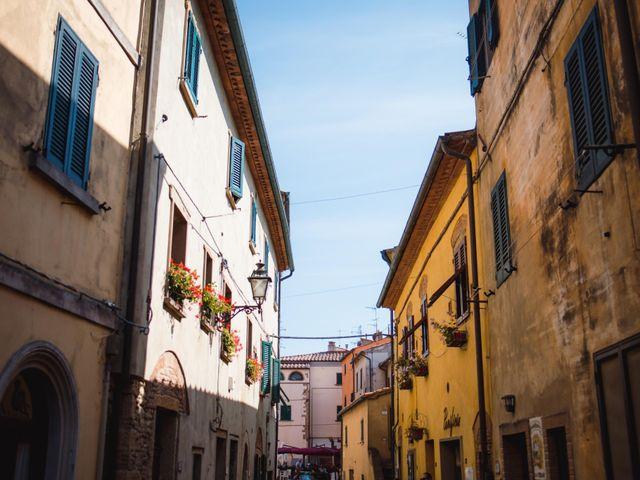 Il matrimonio di Giovanni e Elena a Montecatini Val di Cecina, Pisa 58