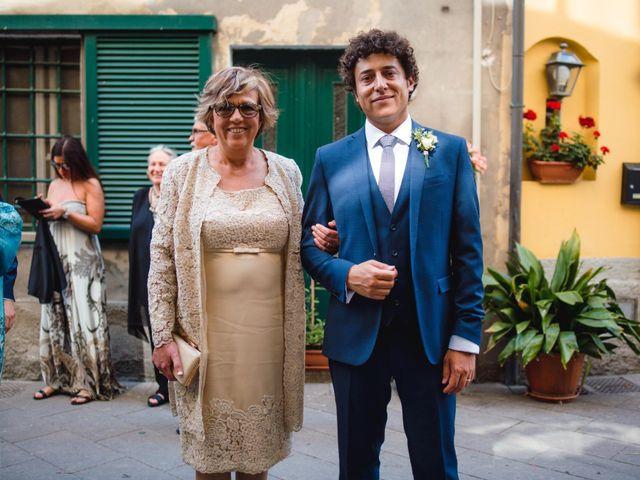 Il matrimonio di Giovanni e Elena a Montecatini Val di Cecina, Pisa 60
