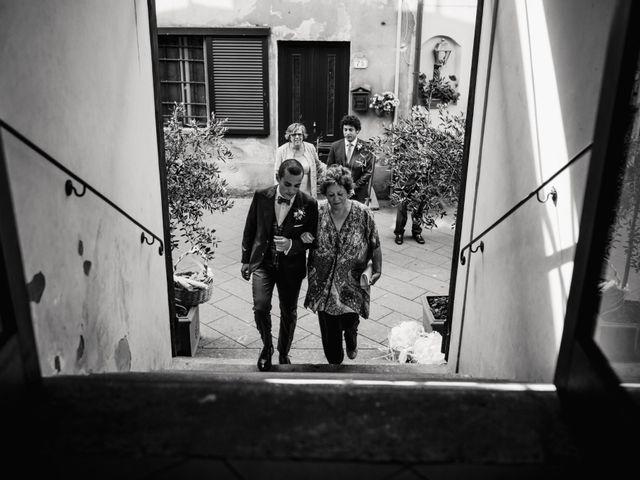 Il matrimonio di Giovanni e Elena a Montecatini Val di Cecina, Pisa 61