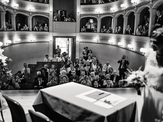 Il matrimonio di Giovanni e Elena a Montecatini Val di Cecina, Pisa 69