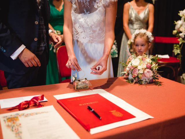 Il matrimonio di Giovanni e Elena a Montecatini Val di Cecina, Pisa 77
