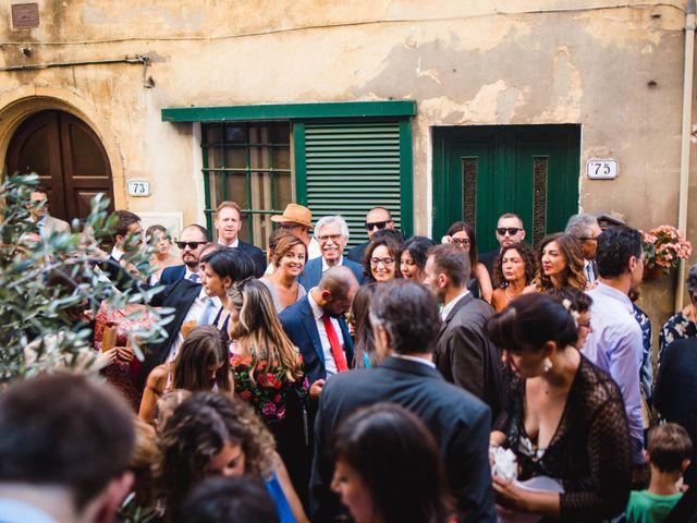 Il matrimonio di Giovanni e Elena a Montecatini Val di Cecina, Pisa 91