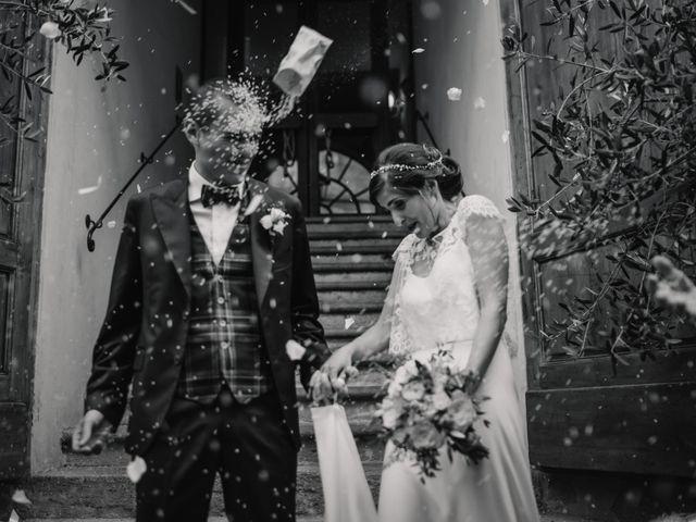 Il matrimonio di Giovanni e Elena a Montecatini Val di Cecina, Pisa 95
