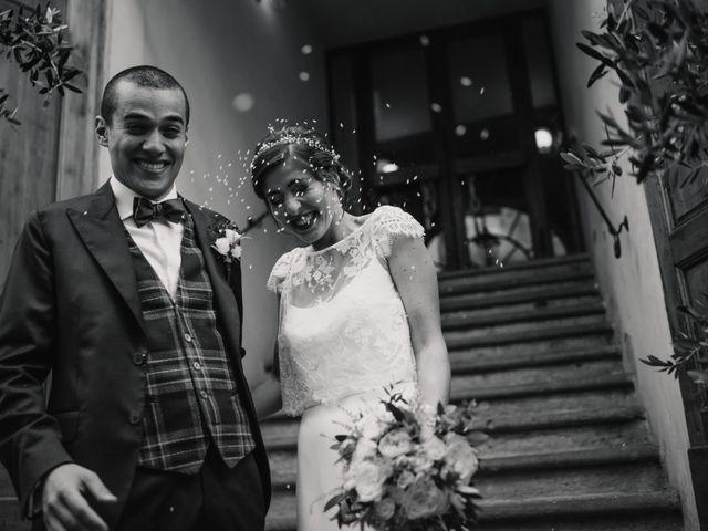 Il matrimonio di Giovanni e Elena a Montecatini Val di Cecina, Pisa 96