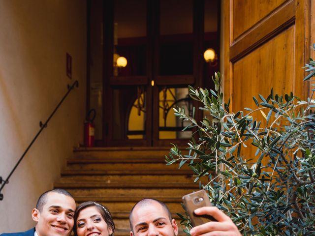 Il matrimonio di Giovanni e Elena a Montecatini Val di Cecina, Pisa 100