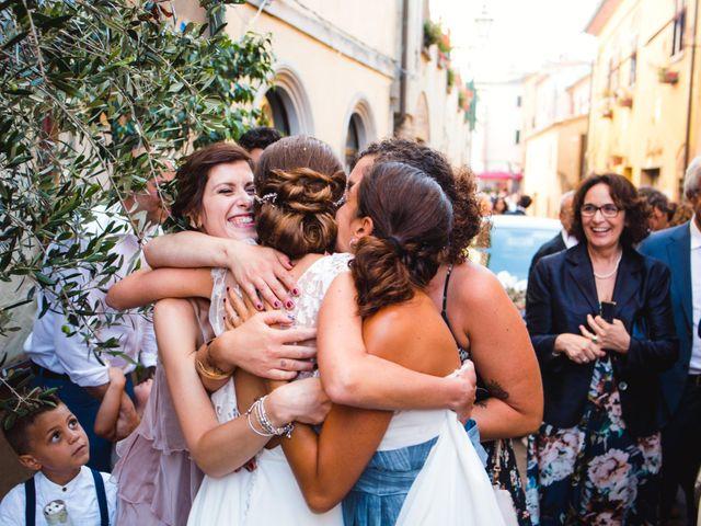 Il matrimonio di Giovanni e Elena a Montecatini Val di Cecina, Pisa 101