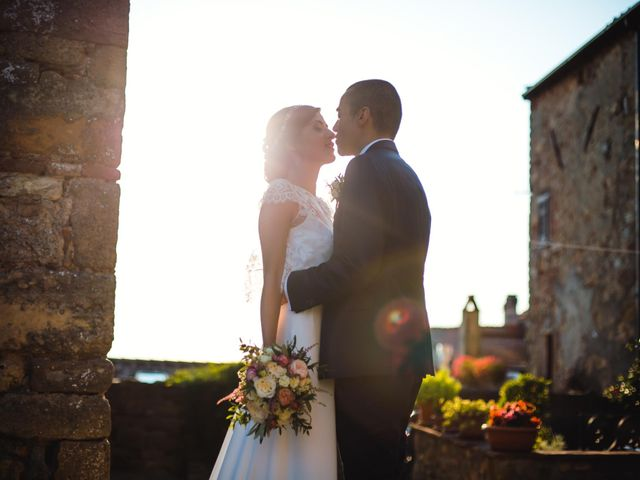 Il matrimonio di Giovanni e Elena a Montecatini Val di Cecina, Pisa 114