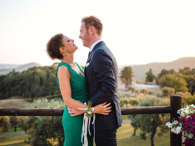 Il matrimonio di Giovanni e Elena a Montecatini Val di Cecina, Pisa 124