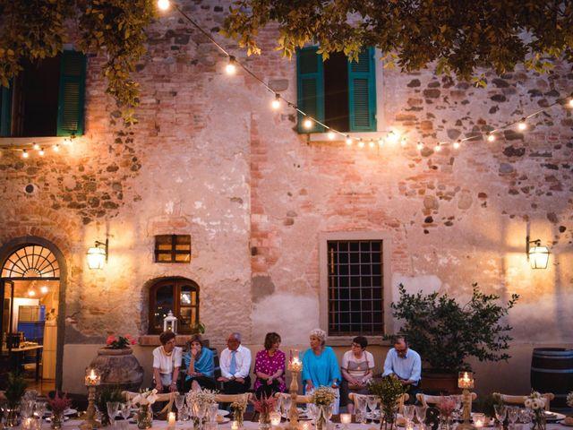 Il matrimonio di Giovanni e Elena a Montecatini Val di Cecina, Pisa 139