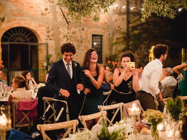 Il matrimonio di Giovanni e Elena a Montecatini Val di Cecina, Pisa 146