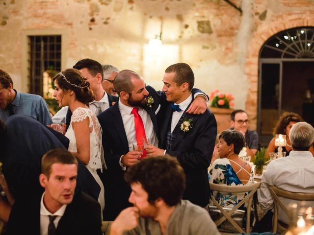 Il matrimonio di Giovanni e Elena a Montecatini Val di Cecina, Pisa 152