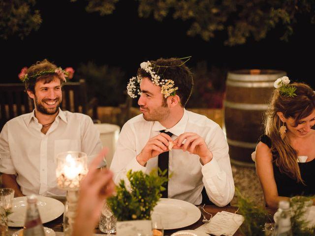Il matrimonio di Giovanni e Elena a Montecatini Val di Cecina, Pisa 158