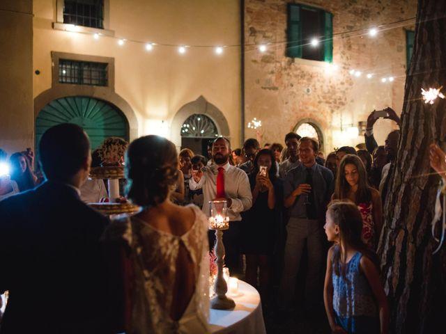 Il matrimonio di Giovanni e Elena a Montecatini Val di Cecina, Pisa 175