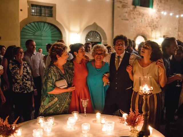 Il matrimonio di Giovanni e Elena a Montecatini Val di Cecina, Pisa 178