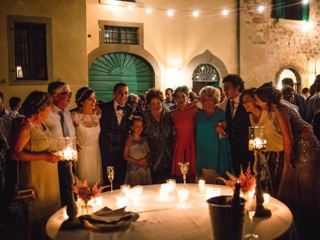 Il matrimonio di Giovanni e Elena a Montecatini Val di Cecina, Pisa 179