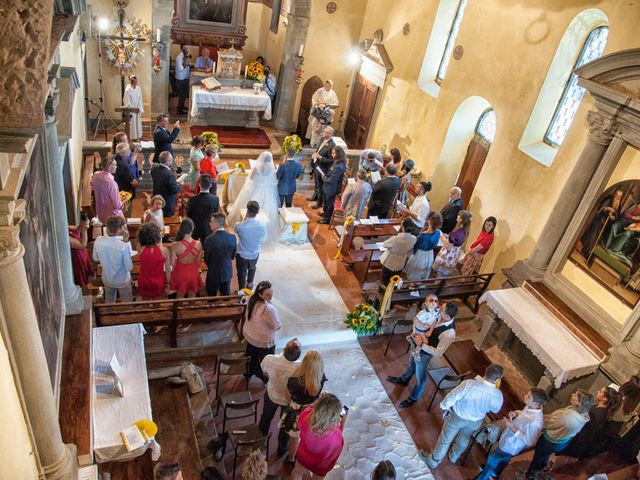 Il matrimonio di Tiziano e Giada a Lamporecchio, Pistoia 24