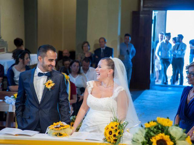 Il matrimonio di Tiziano e Giada a Lamporecchio, Pistoia 27