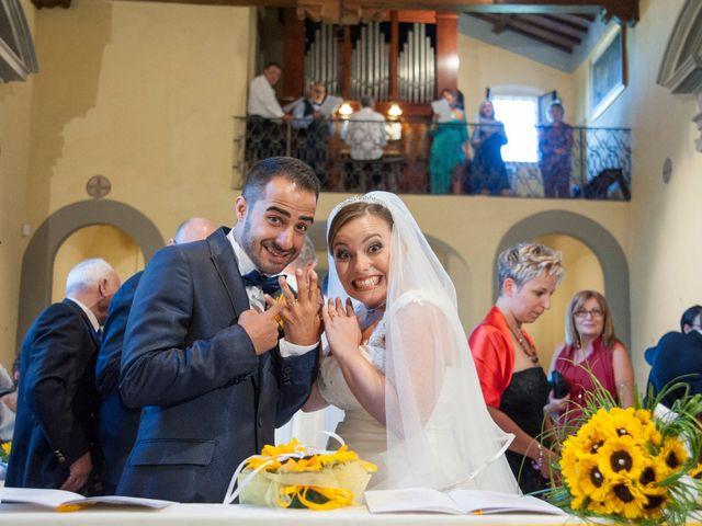 Il matrimonio di Tiziano e Giada a Lamporecchio, Pistoia 29