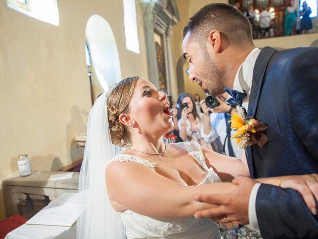 Il matrimonio di Tiziano e Giada a Lamporecchio, Pistoia 30