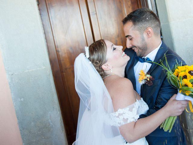 Il matrimonio di Tiziano e Giada a Lamporecchio, Pistoia 34