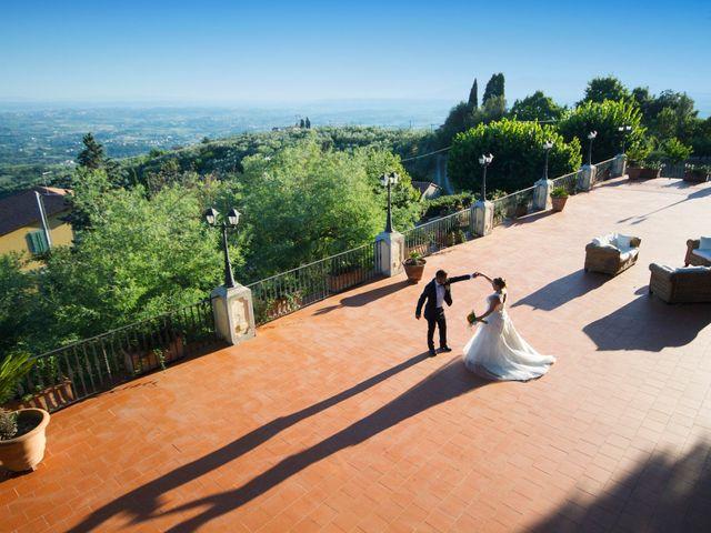 Il matrimonio di Tiziano e Giada a Lamporecchio, Pistoia 45