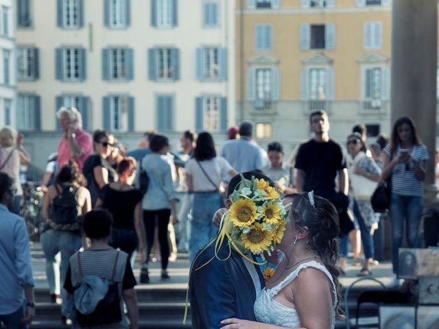 Il matrimonio di Tiziano e Giada a Lamporecchio, Pistoia 54
