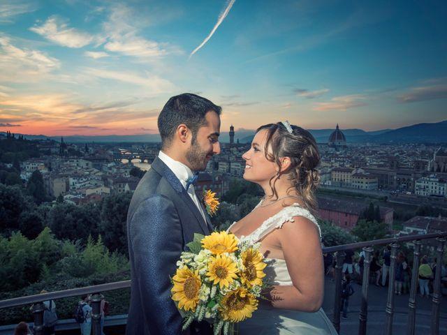 Il matrimonio di Tiziano e Giada a Lamporecchio, Pistoia 59