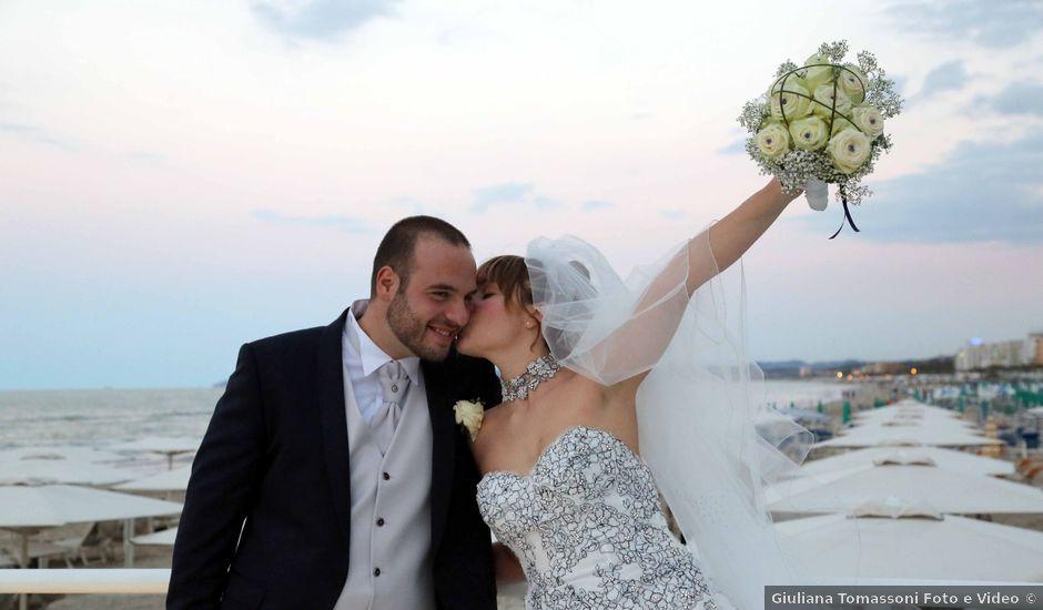 Il matrimonio di Daniele e Alessia a Senigallia, Ancona