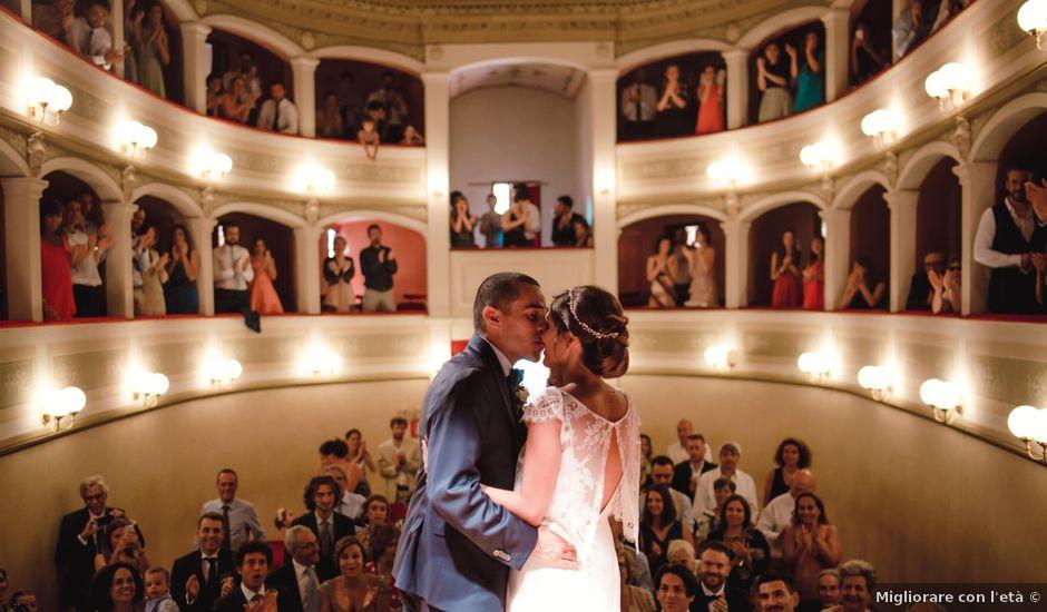 Il matrimonio di Giovanni e Elena a Montecatini Val di Cecina, Pisa