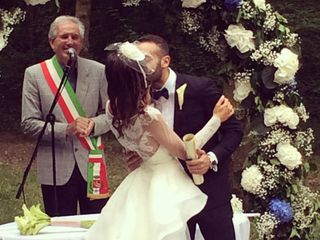 Le nozze di Domenico Geria e Federica Papotti