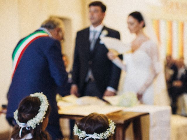 Il matrimonio di Fabio e Francesca  a Ocre, L'Aquila 11