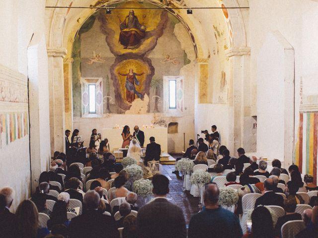 Il matrimonio di Fabio e Francesca  a Ocre, L'Aquila 35