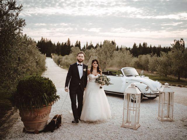 Il matrimonio di Lorenzo e Arianna a Montespertoli, Firenze 27